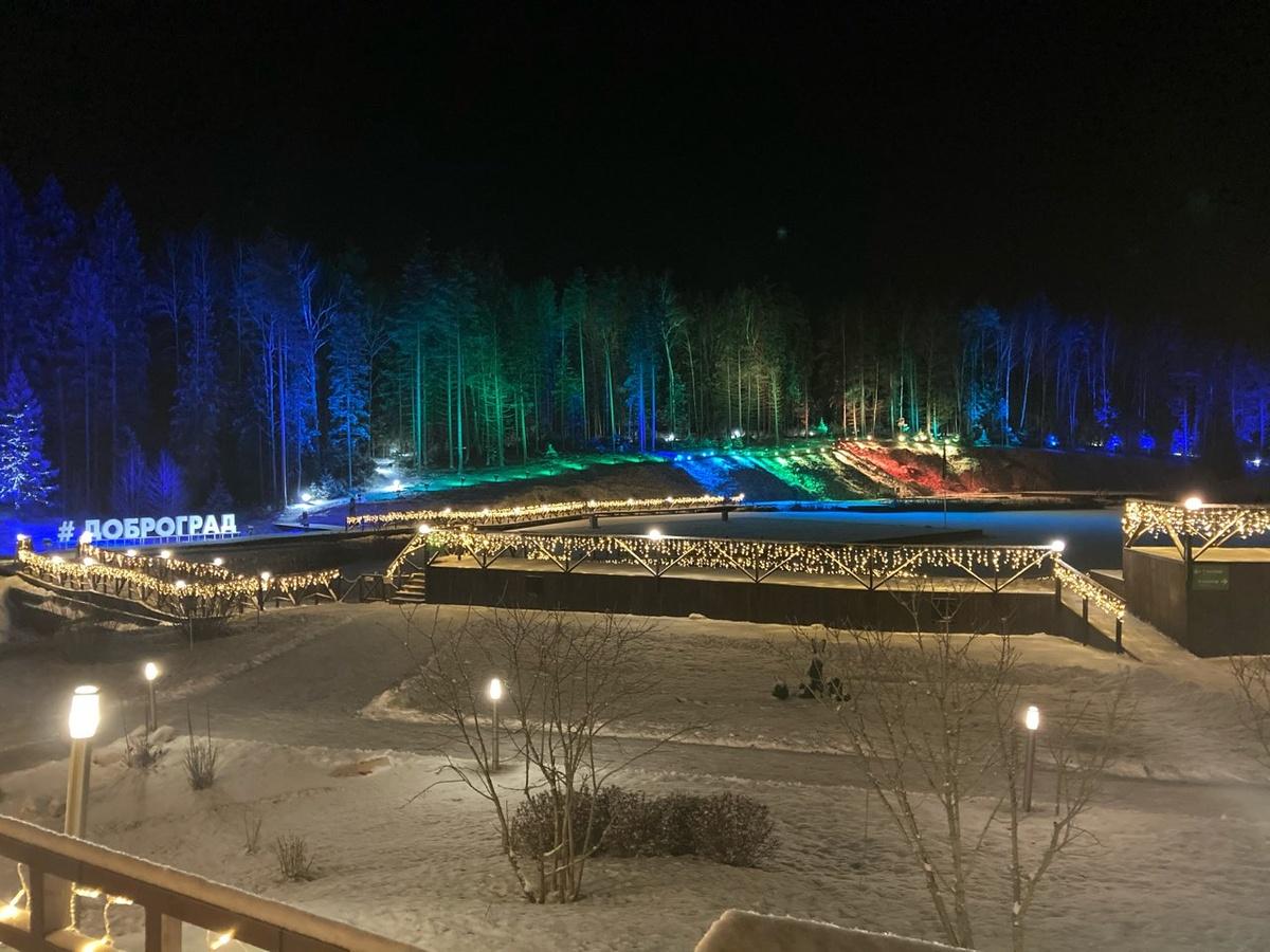 Доброград. Зимняя сказка рядом с Нижним Новгородом